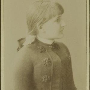 Bildnis eines unbekannten Mädchens von Mayer, Peter
