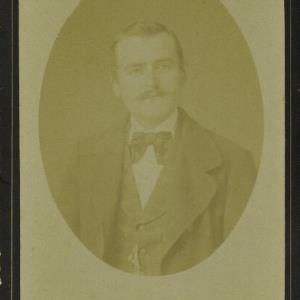 Bildnis eines unbekannten Mannes von Mayer, Peter