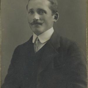 Bildnis von Herr Hefele von Fitz, K.