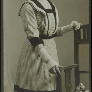 Bildnis einer unbekannten Frau von Fitz, K.