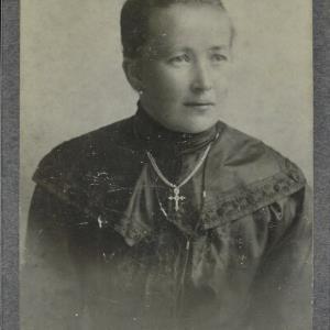 Bildnis einer unbekannten Frau von Fitz, Ignaz