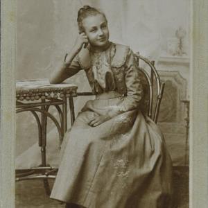 Bildnis eines unbekannten Mädchens von Gnädinger, Alois