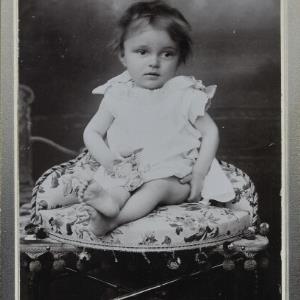 Bildnis eines Mädchens aus der Familie Getzner von Gnädinger