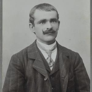 Bildnis eines unbekannten Mannes von Gnädinger, Alois