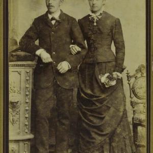 Bildnis eines unbekannten Ehepaares von Högler, Wilhelm