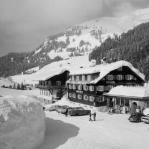 Schröcken im Bregenzerwald 1269 m Gasthof Tannberg von Risch-Lau