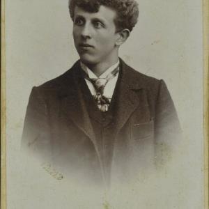 Bildnis eines unbekannten Jungen von Högler, Wilhelm