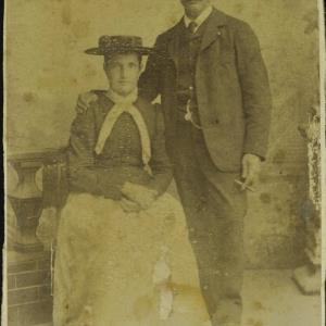 Bildnis des Ehepaares Huber von Vinzenz, Jos.