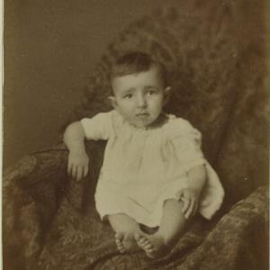 Bildnis eines unbekannten Kindes von Mayer, Peter