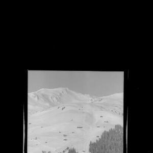 Damüls 1428 m mit Portlerhorn 2012 m von Risch-Lau