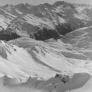 Blick von der Valluga in die Verwallgruppe und Silvretta von Risch-Lau