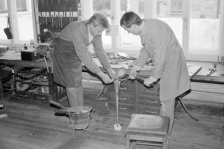 Altes Handwerk: Blechblasinstrumentenmacher / Oliver Benvenuti von Benvenuti, Oliver