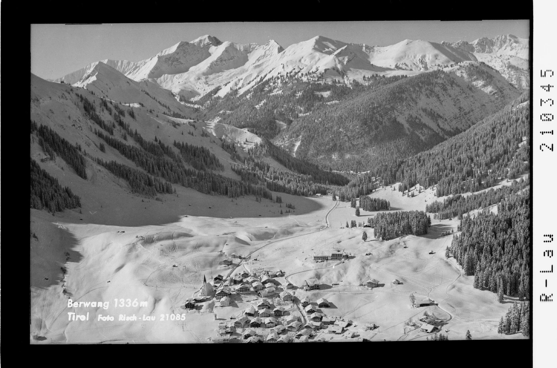 Berwang 1336 m Tirol von Risch-Lau