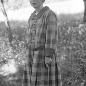 Aufnahme eines Mädchens / Josef Wilhelm Purtscher von Purtscher, Josef Wilhelm