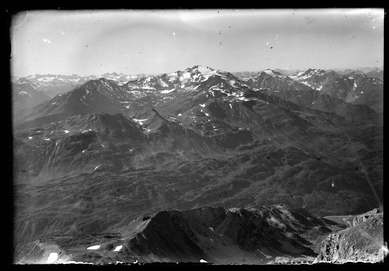 Aufnahme im Gebirge / Josef Wilhelm Purtscher von Purtscher, Josef Wilhelm