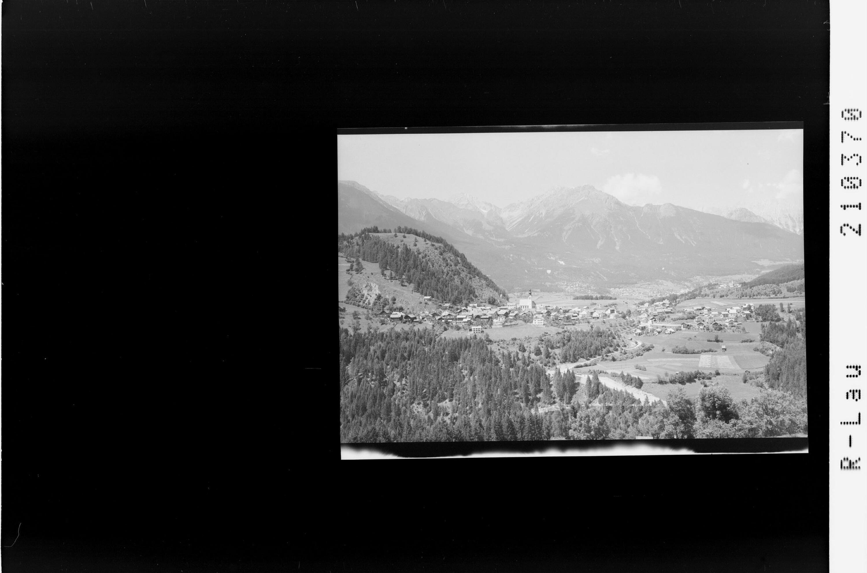 Arzl im Pitztal gegen Lechtaler Alpen von Risch-Lau