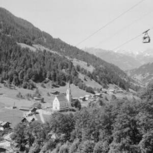 Silbertal im Montafon mit Blick in den Rhätikon von Risch-Lau
