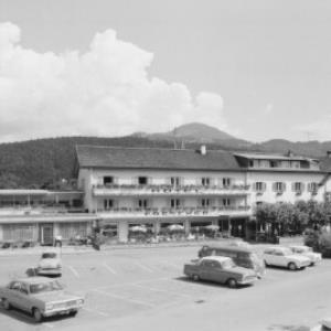 Hotel Freschen in Rankweil gegen Muttkopf von Risch-Lau