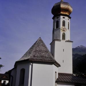 St.Gallenkirch, Kirche Gortipohl / Helmut Tiefenthaler von Tiefenthaler, Helmut
