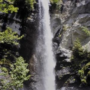 St. Gallenkirch, Wasserfall ob Gortipohl / Helmut Tiefenthaler von Tiefenthaler, Helmut