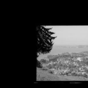 Lochau am Bodensee gegen Lindau von Risch-Lau