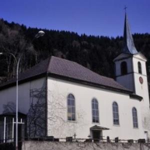 Bregenz, Fluh, Pfarrkirche / Helmut Tiefenthaler von Tiefenthaler, Helmut
