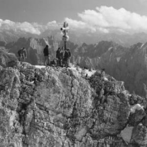 Auf der Zugspitze von Risch-Lau