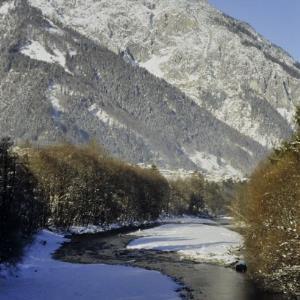 St.Anton-Vandans, Ill am Winterweg / Helmut Tiefenthaler von Tiefenthaler, Helmut