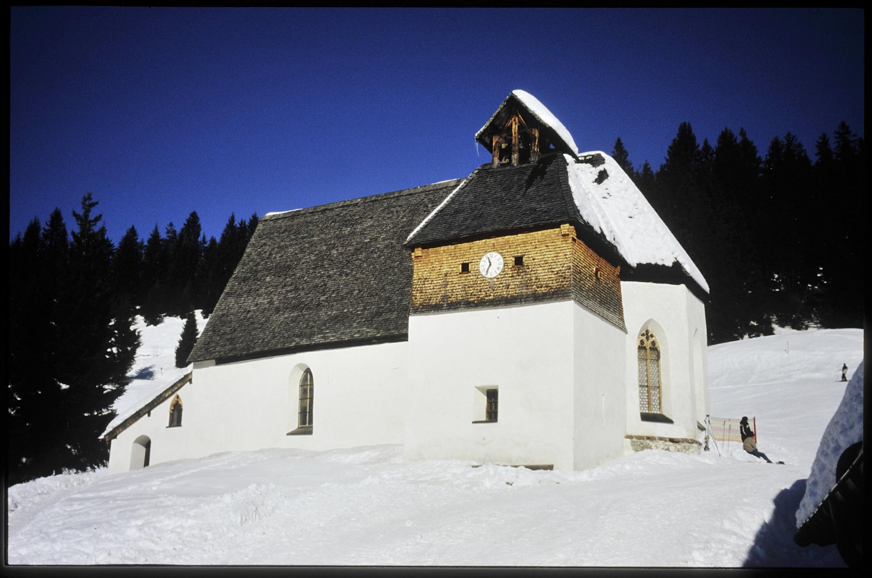 Silbertal, Kirche Kristberg / Helmut Tiefenthaler von Tiefenthaler, Helmut