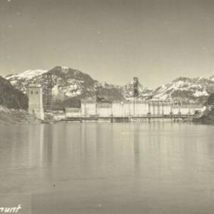 Gaschurn Partenen Stausee - Vermunt von Trautner