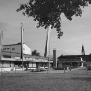 Montfortplatz in Lauterach von Risch-Lau
