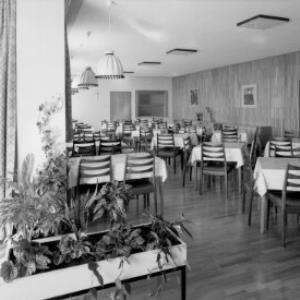 Speisesaal im Erholungsheim Rütte ob Götzis von Risch-Lau