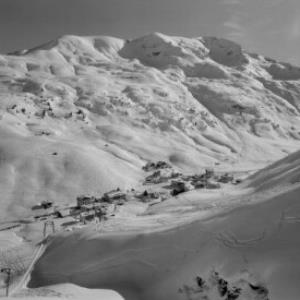 Zürs am Arlberg gegen Trittkopf von Risch-Lau