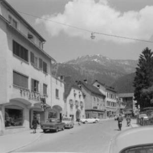 Bludenz, Vorarlberg Wichnerstrassse von Risch-Lau