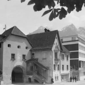 Bludenz, Vorarlberg Oberes Tor von Risch-Lau