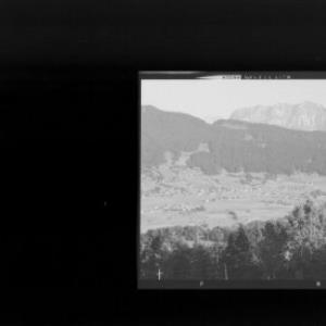 Andelsbuch im Bregenzerwald gegen Kanisfluh von Risch-Lau