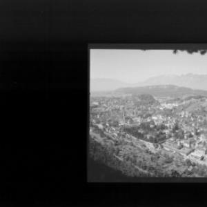 Blick auf Feldkirch mit Hohem Kasten von Risch-Lau