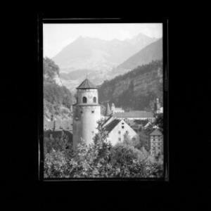 Feldkirch Vorarlberg Katzenturm von Risch-Lau
