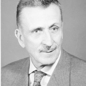 Landtagsabgeordneter Karl Würbel / Helmut Klapper von Klapper, Helmut