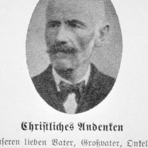 Landtagsabgeordneter Johann Rudolf Wittwer / Helmut Klapper von Klapper, Helmut