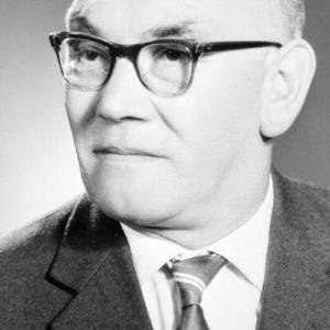 Landtagsabgeordneter Kaspar Winder / Helmut Klapper von Klapper, Helmut