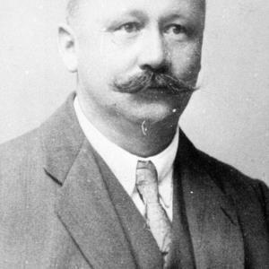 Landtagsabgeordneter Karl Walter / Helmut Klapper von Klapper, Helmut