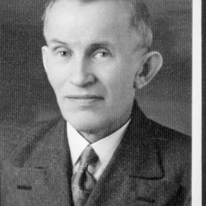 Landtagsabgeordneter Heinrich Wachter / Helmut Klapper von Klapper, Helmut