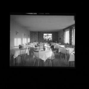 Speisesaal im Gasthof Adler in Klaus von Risch-Lau
