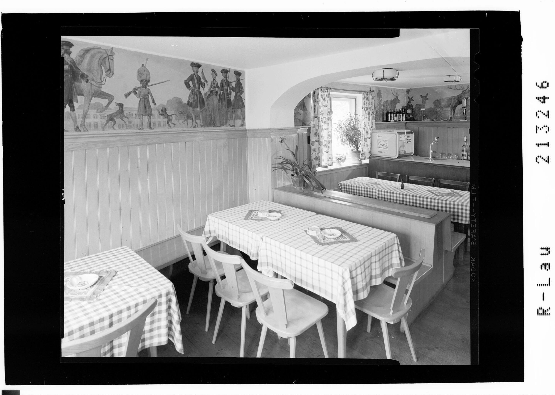 Ehrwald in Tirol - Gastraum im Gasthof Bayrischer Hof von Risch-Lau