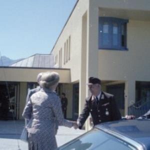 Kirchschläger Besuch - Landesfeuerwehrschule / Helmut Klapper von Klapper, Helmut