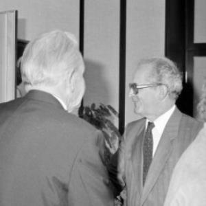Ehrenzeichen an Leissing / Helmut Klapper von Klapper, Helmut