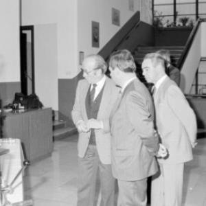 Lehrmittelübergabe an HTL Bregenz / Helmut Klapper von Klapper, Helmut