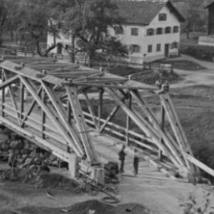 Mühleplatz-Brücke von Hersteller nicht ermittelbar
