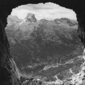 Dolomiten, Befestigungsanlage / Fotograf: Norbert Bertolini von Bertolini, Norbert